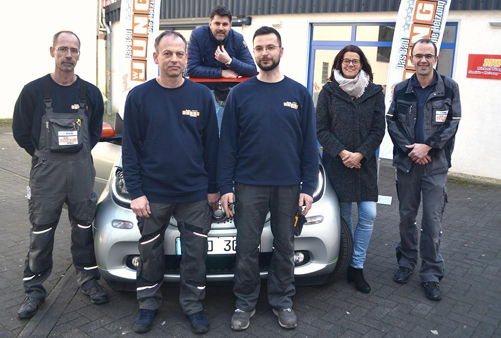 Team von W.Jung & Söhne GmbH, Standort Hannover